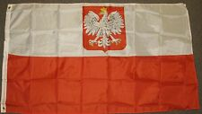 3X5 OLD POLAND FLAG POLISH FLAGS WHITE EAGLE EU F154