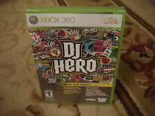 DJ Hero (game only)  (Xbox 360, 2010)