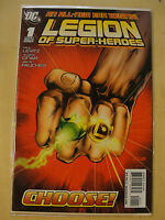 Dc Comics Legion Of Superheroes Choose #1 NM/M Bagged and Boarded!