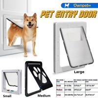 Dog Cat Screen Door Automatic Window Screen Flap Safe for Small Medium Large Pet
