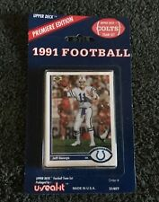 1991 Upper Deck NFL cards Indianapolis Colts Team set NEW SEALED Jeff George