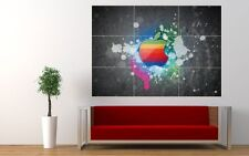 Apple Giant XL Section Wall Art Poster