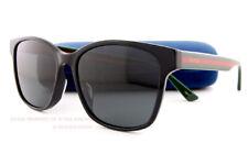 f2cd5148b5e Brand New GUCCI Sunglasses GG 0417 SK 001 Black Gray For Men Women