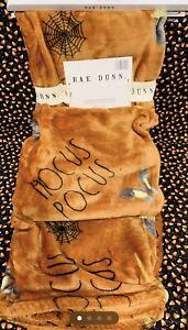 Rae Dunn Hocus Pocus Halloween Throw Blanket 50x70 NWT