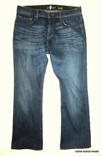 7 FOR ALL MANKIND Jeans MENS 33 x 30 BRETT Slim Bootcut Boot Cut Designer Denim