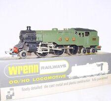 Wrenn OO 1:76 Class WT 2-6-4 GWR Green Metal Steam TANK LOCOMOTIVE NMIB`76 RARE!