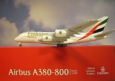 Herpa Wings 1:500 Airbus A380-800  Emirates A6-EUK  514521-004 Modellairport500