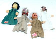 Eri  4 Stück Kasperlepuppen Handspielpuppen Puppentheater  Künstlerhandpuppen