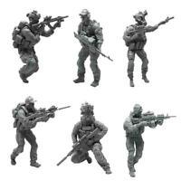 1/35 YUFAN Model Modern Army Soldier Resin Figure Model E7V6