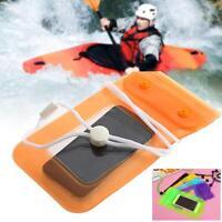 Mobile Smart Cell Phone Case Money Belt Neck Strap Card Holder Waterproof Bag CV