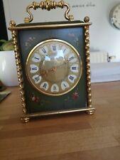 "Horloge d'officier "" Le Castel "" made in Switzerland Pendulette Carriage clock"