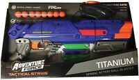 DART ZONE Adventure force -  TITANIUM BLASTER compatible with NERF RIVAL