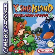 GameBoy Advance game - Super Mario 3: Yoshi's Island (Module with instructions