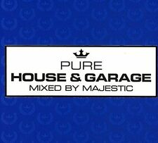 MAJESTIC - PURE HOUSE & GARAGE: MIXED BY MAJESTIC [DIGIPAK] * USED - VERY GOOD C