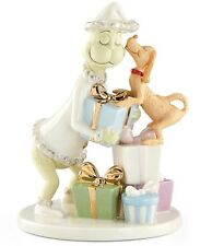 Lenox Dr. Seuss Max Steals A Kiss From Grinch Figurine New In Box