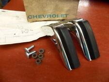 1973 Chevrolet Chevelle Rear Bumper Guard Pair NOS