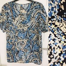 """Lovely Spotted Long Blouse Top Uk 18-20 / 50"""""""
