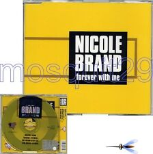 "NICOLE BRAND ""FOREVER WITH ME"" RARE CDM ITALO DANCE - SEALED"