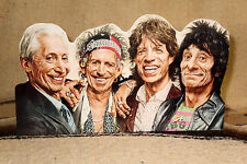 "The Rolling Stones Rock & Roll Tabletop Standee 10 1/2"" Long"
