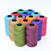 1.5mm*100yards Macrame Rope Cotton Twisted Cord Hand Craft String DIY Home Decor