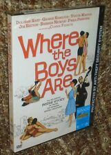 WHERE THE BOYS ARE DVD, NEW & SEALED, RARE,WIDESCREEN, REGION 1, CONNIE FRANCIS
