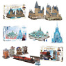 3D Puzzle in Harry Potter Hogwarts Express, Castle or Frozen II Ice Palace