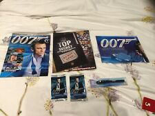 007 Spycards Collection - Issue 1 New With Cards And Decoder Pen