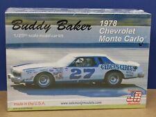 Salvinos JR Models BBMC1978O Buddy Baker 1978 Chevy Monte Carlo Kit USA Sealed