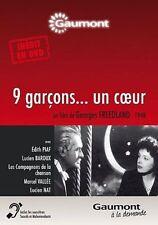 """DVD """"Neuf garçons. Un coeur """" Edith PIAF     NEUF SOUS BLISTER"""