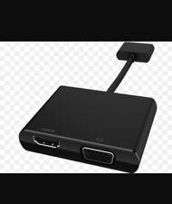 Nuevo En Caja RETIAL HP ElitePad Elite x2 Hdmi Vga Adaptador De Cable H3N45AA