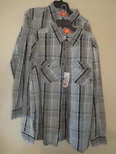 Merrell Men's Sawyer Long-Sleeve Button Down Shirt -Ash, XL