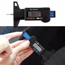 Digital LCD Depth Gauge Car Tyre Tire Tread Brake Pad Shoe Pad Wear 0-25mm New