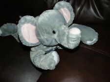 "18"" Elephant Peek-A-Boo Pillow Fiesta Plush Stuffed Animal Zipper"