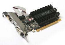 ZOTAC GT 710, 2 GB DDR3, VGA, DVI, HDMI Grafikkarte nVidia passiv ohne Lüfter