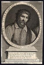 Antique Print-MICHEL DE NOSTREDAME-NOSTRADAMUS-PORTRAIT-1735