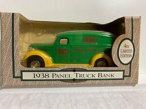 Ertl Die-Cast- 1938-Panel Truck Bank-HWI Ft.Wayne, Ind.- 4th LImited Edition-NIB