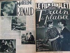 """LE FILM COMPLET 1936 N 1815 """" TRAIN DE PLAISIR """" avec  FREDERIC DUVALLES"""