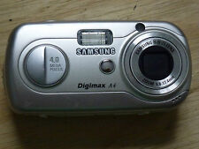 Silver SAMSUNG Digimax A4/Cyber 40 4MP Digital Camera