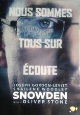 DVD film SNOWDEN d'Oliver Stone avec Joseph Gordon-Levitt