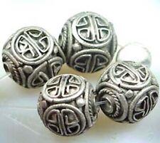 12pcs tibetan silver color scarf design charms EF0203
