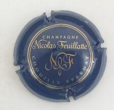capsule champagne NICOLAS FEUILLATTE n°30 bleu et or