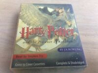 Harry Potter and the Prisoner Of Azkaban  Audio Cassette