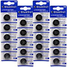 20 CR2025 CR 2025 DL2025 BR 2025 3 Volt Lithium Button Cell Battery USA US Ship