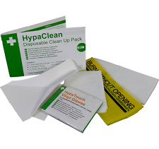 HYPACLEAN CLEAN UP DISPOSAL PACK - BLOOD,VOMIT & URINE -IDEAL FOR BODY FLUID KIT
