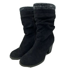 Womens Just Fab Boots Black Size US 7