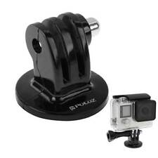 Action Camera Mount Tripod Adapter Converter To 1/4'' Thread Screw For Gopro BU
