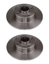 Solid Rear Brake Disc For Renault Clio III/Grandtour, pack of 2 Left&Right Side