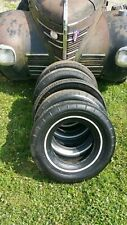Original Goodyear T3 All Weather Tires 825 14 Mopar Ford Chevy 57 66 69 4 Tires