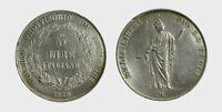 s546_8) MILANO - Governo Provvisorio 1848 -  5 Lire 1848  - colpetti vari pulita
