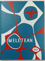 Meletean 1963 Wisconsin State College River Falls Yearbook, Unsigned